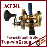 Saltwater ACT341  HOT SALE ! Free shipping European Fishing Reel Bait Baitcasting reels Right Hand One-way 3+1RB 690G ball bearings 6.2:1