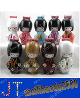 Wholesale Oriental Japanese Kokeshi dolls wooden MYY337