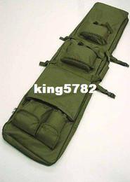 """48"""" SWAT Dual Tactical Rifle Carrying Case Gun Bag OD fre ship"""