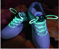 Wholesale Hot New DHL Factory directly sale250piars Latest model LED Flashing shoelace light up shoe laces Laser Shoelaces