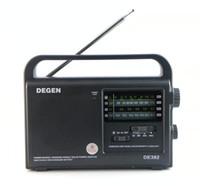 FM/TV emergency radio - DEGEN DE392 FM TV MW SW Crank Dynamo Solar Emergency Radio World Receiver A0799A