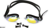 2014 fashion new waterproof anti- fog myopia Swimming goggles...