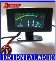 Wholesale 12V24V36V car digital thermometer sensorhigh precision color screen car digital thermometer sensorfreeshipping