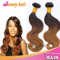 Wholesale Hot Selling Remy Ombre Hair Bulk Virgin Brazilian Body Wave Hair Weave Brazilian Ombre Hair Weft g per pc Piece Best Quality Hair