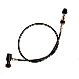 Wholesale New paintball Remote Hose Straight line quot with slide check With Quick Disconnect