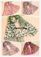 Wholesale 2014 Hot Korean winter long section of chiffon scarf shawl scarf cute