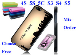 Wholesale DIy sublimation case for iphone S for iphone S C For Samsung Galaxy S2 S3 S4 S3 mini S4 minii tape and metal inserts