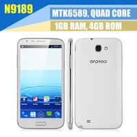 "Star 5.3 Android 4.2 5.3"" Ulefone N9189 MTK6589 Quad Core Android 4.2 3G Smartphone cell phone dual sim 3G 5.3 Inch Multi-Touch dual Camera GPS WIFI Bluetooth"