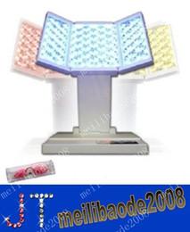 Бесплатная доставка машина Персональный PDT фотодинамическая терапия светодиодные красоты для ухода за кожей лица, омоложения кожи, удаления прыщей, 3-х цветов MYY340
