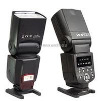 Yes Yes black NEW WANSEN Flash Speedlite WS-560I Led Light Flashgun for Canon 5D 5DII 5DIII 7D 60D 550D 600D 70D