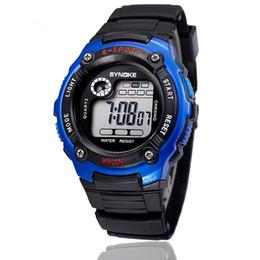 Hot Cheap Men Sports Student Wrist Watch LED Digital Watch Children Kid Watch Mix 5 Colors Free Shipping