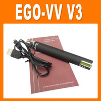 Electronic Cigarette Battery as pictures electronic cigarette ego v v3 battery variable voltage battery 1300mah ego VV VW battery Electronic Cigarette battery(0204042)