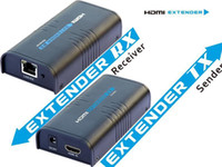 Wholesale HDMI Extender Over Ethernet M LAN RJ45 CAT5 CAT6 For HD P DVD PS3