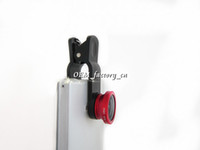 Wholesale Hot Sale Clip in Lens Fisheye Lens Macro Wide Angle for iphone S C S Samsung Galaxy S5 S4 i9500 Note N9000