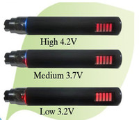 Electronic Cigarette Battery Black Wholesale - -ego vv battery 650mah 900mah 1100mah variable voltage ego vv Led battery EGO-vv Electronic Cigarette e cig battery