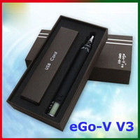 1300mAh Electronic Cigarette Battery 2014 1300mAh EGO-V V3 Battery E Cigarette Battery 3.0~6.0V Adjustment Variable Voltage with LCD Screen for eGo 510 Clearomizers