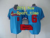 Baseball baseball kits - Cardinals Stan Musial Light Blue Stitched Baseball Jersey new hot autographed sports jerseys high quality brand sports shirts kit