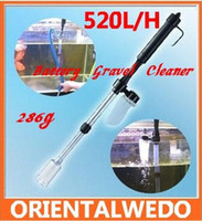 Wholesale Tank Vacuum Gravel Water Aquarium Fish Tank Cleaning Battery Siphon Auto Filter Washer Cleaner