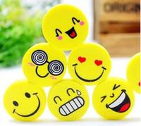 Wholesale Eraser Korea Stationery Creative Explosion Models Cute Smiley Face Eraser