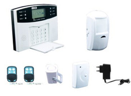 Wholesale GSM SMS Home Burglar Security Alarm System Detector Sensor shop alarm security