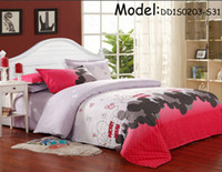 Polyester / Cotton bed - Bedding set Sheet Bedding Discount Queen King twin size bedding sets bedclothes duvet covers bed sheet the bed linen home textile