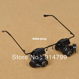 Wholesale 20X Hight quality optical Glasses type Watch Repair Magnifier magnifying glass NO A II