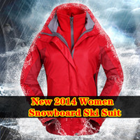 Wholesale new Spring brand women s Layer Winter snowboard skiing camping amp hiking jackets windbreaker Sport Outerwear ski suit