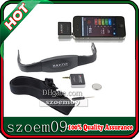 Cheap Wireless Heart Rate Monitor For Android Apple Phone 4S 5 Pad Chest Strap Sports Calorie Exercise Free Apps