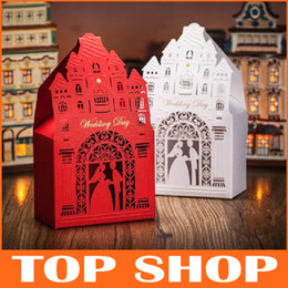 Wholesale Wedding Candy Boxes Creative Church Candy Bags Favor Sugar Wedding Box For Candy HQ0060