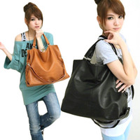 Women ladies pu bags - S5Q Stylish Women Ladies Shoulder Tote Hobo Leather Messenger Bag Handbag Purse AAACZZ