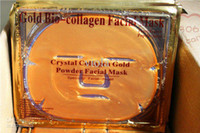Wholesale Gold Crystal Collagen gel Facial Mask Face Masks