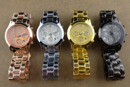 Wholesale Fashional Luxury watch Watch Gold watches Balck watch eyes mens wristwatch women watch colours In stock