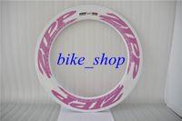 Road Bikes carbon bicycle wheel set - ZIPP Carbon Bicycle Wheel Set C MM Clincher Tubular Shimano Campagnolo POWERWAY R13 J hook HUBS Wheels for Bicycle