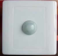 Wholesale Infrared Save Energy PIR Motion Sensor Automatic Light Switch White