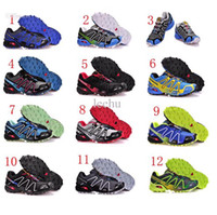 Hot 2014 Newest Zapatillas Salomon Speedcross 3 Running Shoe...