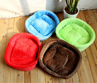 Wholesale 10pcs Multicolored Classic Basin Type Littermates Pets Cotton Nest Teddy Warm Autumn Winter Dog House Kennel Beds Mat Sofas S M