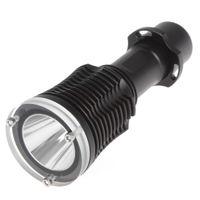 Wholesale Scuba Lumen Cree XML T6 LED Diving Flashlight Torch Waterproof AAA Diver LED Flash Light With M Underwater Depth LEF_098