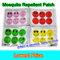 Wholesale 1200pcs Best Baby Adult Smiling Face Mosquito Natural Repellent Patch Insect bug repellent sticker outdoor Camping