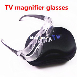 Wholesale NEW NO J Maximize your screen with special TV glasses easy grip magnifier magnifying glasses