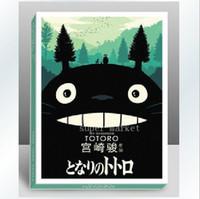 Wholesale Totoro Hayao Miyazaki Edition blessing Postcards Greeting Cards