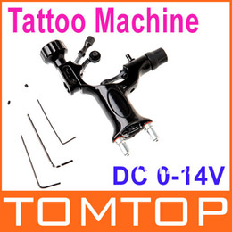 Wholesale Professional Black Rotary Motor Tattoo Gun Machine Strong Hybrid Quiet Light Weight Silent Dropshipping