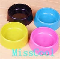 Wholesale Cute Pet Food Bowls Travel Dog Cat Water Bowls Feeding Dish Feeders For Puppy Kitten Multicolor CW001