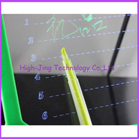 8colors for your choose led writing board - led billboards led writing board luminescent neon light emitting led message board led writing board for kids gift