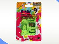 Wholesale TOP new R SIM RSIM9 R SIM9 Pro Perfect SIM Card Unlock Official IOS ios RSIM for iphone S G S C GSM CDMA WCDMA G G