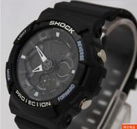 Wholesale new BLACK ga200 watch wristwatch Multifunctional electronic watches GA ADR dual display g
