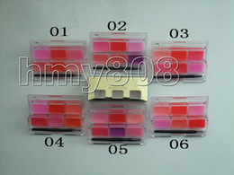 Wholesale NEW Makeup Color Cosmetic Lip Lips Gloss Lipsticks Makeup Palette free gift