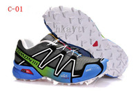 Wholesale New salomon running shoes men athletic shoes men s walking brand outdoor fun amp sports solomon size best quality
