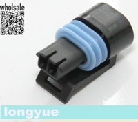 other other  longyue 50 Kit 2-pin Coolant Temperature Temp Sensor ECT connector plug GM TPI TBI LT1 LS1