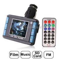 Wholesale 1 inch LCD Screen Car MP4 Player with FM Transmitter Support Micro SD Card