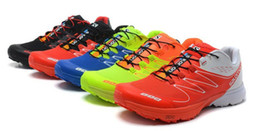 Wholesale Colors Hot Men Solomon cross country running shoes on foot outdoor climbing shoes Sport Shoes